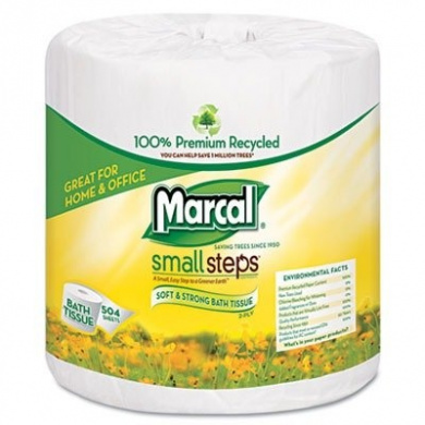 MAC4580 - Marcal 1005 Premium Recycled Two-ply Bath Tissue