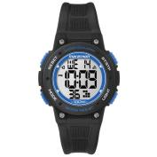 Timex TW5K84800M6 Marathon Digital Mid-size Black/ Blue Resin Watch