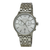 Armani Men's AR1796 Classic Stainless Steel Chronograph Watch