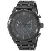 Diesel Men's Stronghold DZ4349 Black Stainless-Steel Analogue Quartz Watch