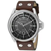 Diesel Men's DZ1716 'Rollcage' Brown Leather Watch