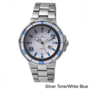 Adee Kaye Mens Corredor Collection Stainless Steel Watch