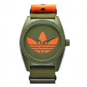 Adidas Men's ADH2876 Santiago Ion Plated Steel Green Watch
