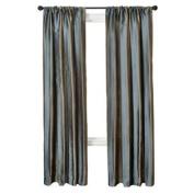 Diplomat Decor Kylian Stripe Rod Pocket Panel, 210cm , French Blue