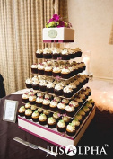 Large 7 Tier Wedding Party Cupcake Tower Stand-Cake and Dessert Tower - 46cm Cake Stand (7S)