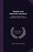 English and American Literature