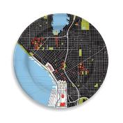 City 30cm Seattle Plate