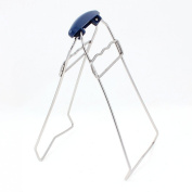 Kitchen Tool Bowl Plate Lifter Dish Retriever Remove Gripper Clamp Clip Blue