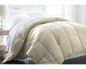 ienjoy Home Hotel Collection 1500 Series - Lightweight - Luxury Goose Down Alternative Comforter - Hotel Quality Comforter and Hypoallergenic - Twin/Twin XL - Ivory