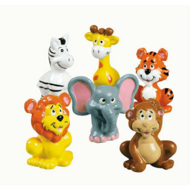 12 Birthday Party Zoo Animal Toys Cupcake Toppers Safari Jungle favours