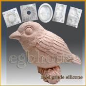 Bird - Silicone Soap/sugar/fondant/chocolate/marzipan 3d Mould