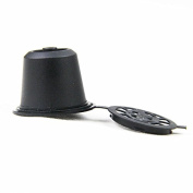 5 pcs For Refillable Coffee Capsule Cup Reusable Refilling For Nespresso machine not for Dolce Gusto