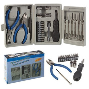 Panorama Gifts 26Pcs Precision Tool Set Diy Kit With Tri-Fold Carrying Case