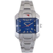 Diadora Woman's Blue Dial Stainless Steel Date Watch