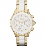 DKNY Women's NY8830 Chambers Round Two-tone Bracelet Watch