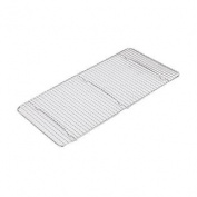 Adcraft WPG-1018 25cm x 46cm Chrome Plated Wire Pan Grate