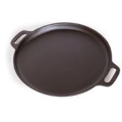 Spiceberry Home Pre-Seasoned Cast-Iron Pizza Pan / Griddle - 36cm