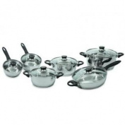 BergHOFF 12-Piece Ostend Stainless Steel Cookware Set