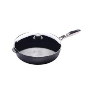 Swiss Diamond Nonstick Saute Pan with Lid, Stainless Steel Handle - 5.5l