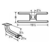 Music City Metals 11002-73602 Stainless Steel Burner Replacement for Select Ellipse and ProChef Gas Grill Models