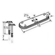 Music City Metals 11602-70301 Stainless Steel Burner Replacement for Select Sunbeam Gas Grill Models