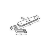 Music City Metals 15202-77102 Stainless Steel Burner Replacement for Select Gas Grill Models by Arkla, Charmglow and Oth