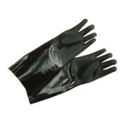 GLN27BK Black 43cm Elbow Length Neoprene Cleaning Gloves - Pair