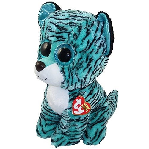 0f91c20dbbd Ty Beanie Boos Tess - Tiger Large (Justice Exclusive) by TY Toys ...