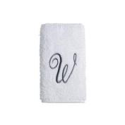 Avanti Towel Set WHT/SIL PRE SCRIPT 3PC