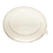51932DA300 Clear PETE Round Lid for 950ml Container - 300 / CS