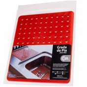 Strong Durable Sink Mat Red