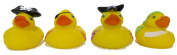 "Set of Four 5.1cm Rubber Duckies ""Pirates"""