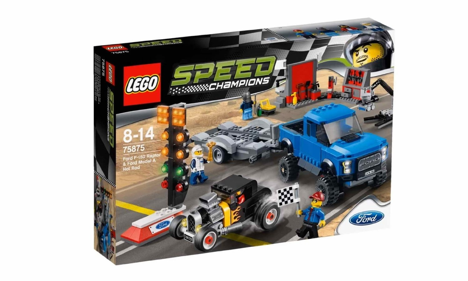 Lego speed champions ford f 150 raptor ford model a hot rod 75875 share this product voltagebd Images