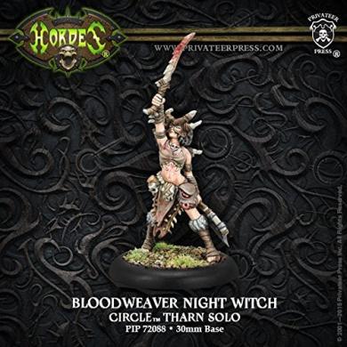 Warmachine Hordes Bloodweaver Night Witch Circle Orboros