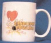 "Candlepin Novelty Mug - ""I love Candlepin Bowling"", 12 pack"