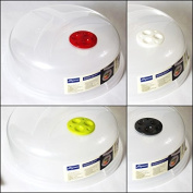Cuisine Elegance Microwave Food Cover White