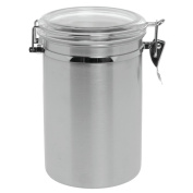 Stainless Steel Canister with Air Tight Lid, 1800ml 13cm D x 20cm H