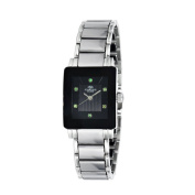 Oniss Women's Stainless Steel and Tungsten with Genuine Sapphire Gemstone