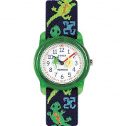 Timex Kids' T72881 Analogue Lizards Elastic Fabric Strap Watch