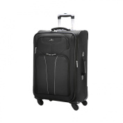 60cm Black Arcadia Rolling Spinner Luggage