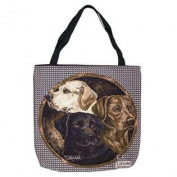 (Price/EACH)Simply Home Labrador Retriever Tote Bag
