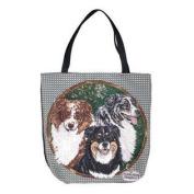 (Price/EACH)Simply Home Australian Shepherd Tote Bag