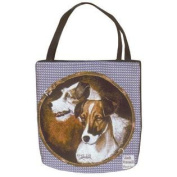 (Price/EACH)Simply Home Jack Russell Tote Bag