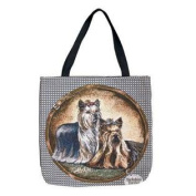 (Price/EACH)Simply Home Yorkshire Terrier Tote Bag