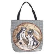 (Price/EACH)Simply Home Schnauzer Tote Bag