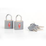 TSA-Approved padlocks - Double-set - Accepted for International Use