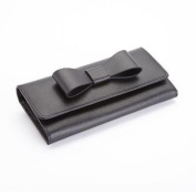 Royce Saffiano Leather RFID Blocking Large Bow Wallet
