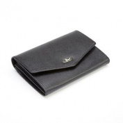 Royce Leather RFID Blocking Saffiano Ladies' French Purse