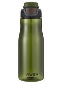 Avex 950ml Brazos Autoseal Water Bottle - Olive
