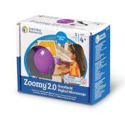 Learning Resources Zoomy 2.0 Handheld Digital Microscope, Purple